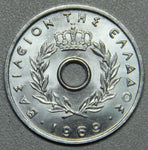 1969 Greece 10 Lepta BU- Lot 4