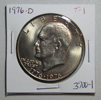 1976 D Eisenhower Dollar Type 1 BU