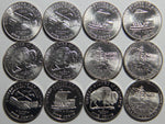 2004-2005 PDS Westward Journey Nickel Set -12 coins!