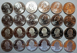 2009 PDSS DC and Territories Quarter Set- 24 Coins!