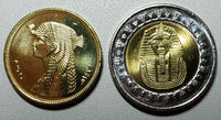 2010 Egypt Cleopatra and King Tut Coin Set Uncirculated