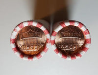 2017 P D Lincoln Shield Cent BU Bank Rolls