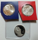 2018 P D S Jefferson Nickel Set from US Mint Sets