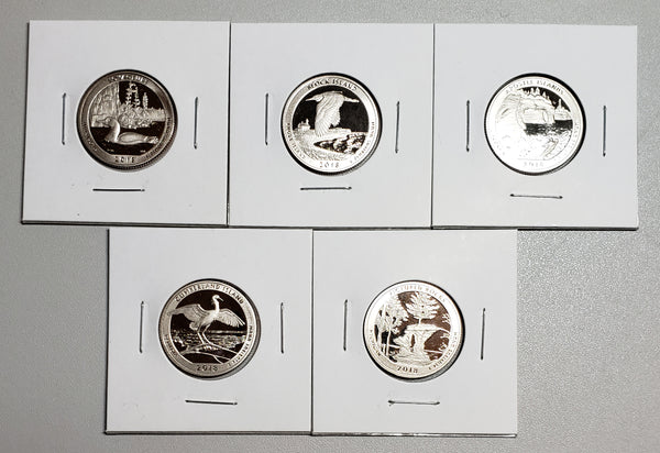 2018 S ATB Quarters Clad Proof Set
