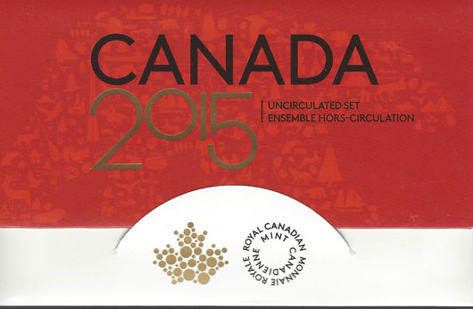 2015 Canada Uncirculated set