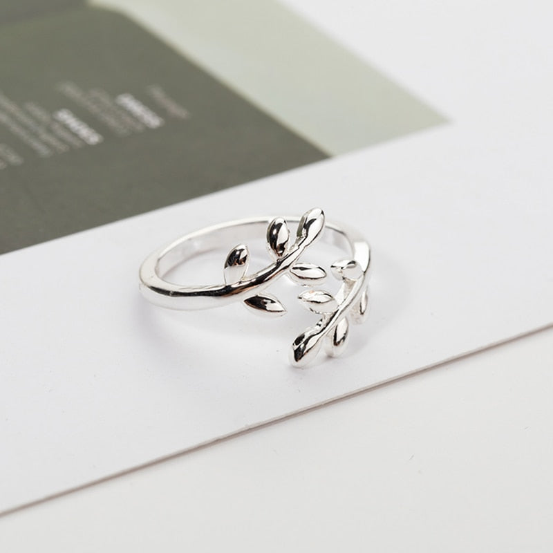 Olive Tree Leafly Ring