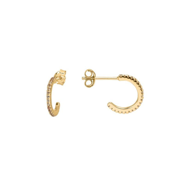 Eline Mini Hoops Champagne