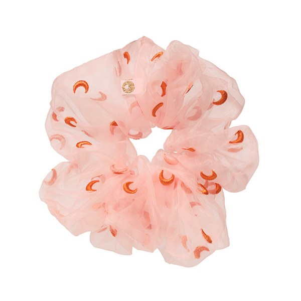Anisette Moon Pink Scrunchie