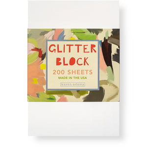 Glitter Block Notepad