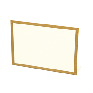 Gold Frame Place Card