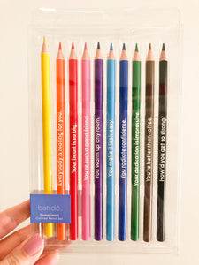 Compliment Colored Pencils