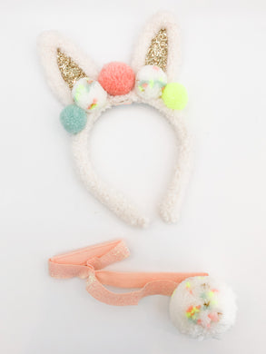 Pom Pom Bunny Ear  Dress Up