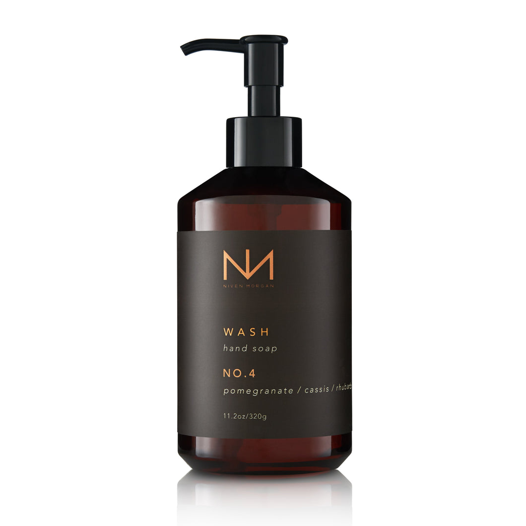 No. 4 Hand Soap Pomegranate, Rhubarb, Cassis