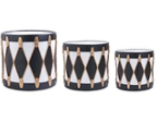 White and Gold Drums