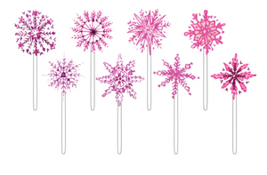 Pink Snowflake Sweeties