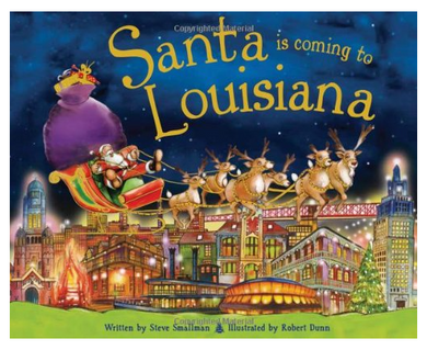 Santa is Coming to Louisiana