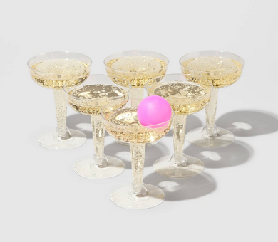 Hand Painted Prosecco Pong