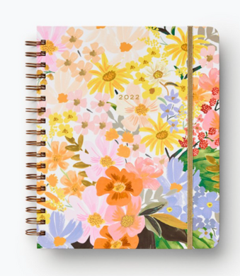 2022 Marguerite 17-Month Hard Cover Spiral Planner