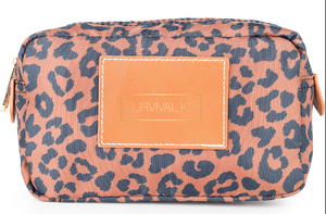 Billie Medium Utility Pouch - Leopard