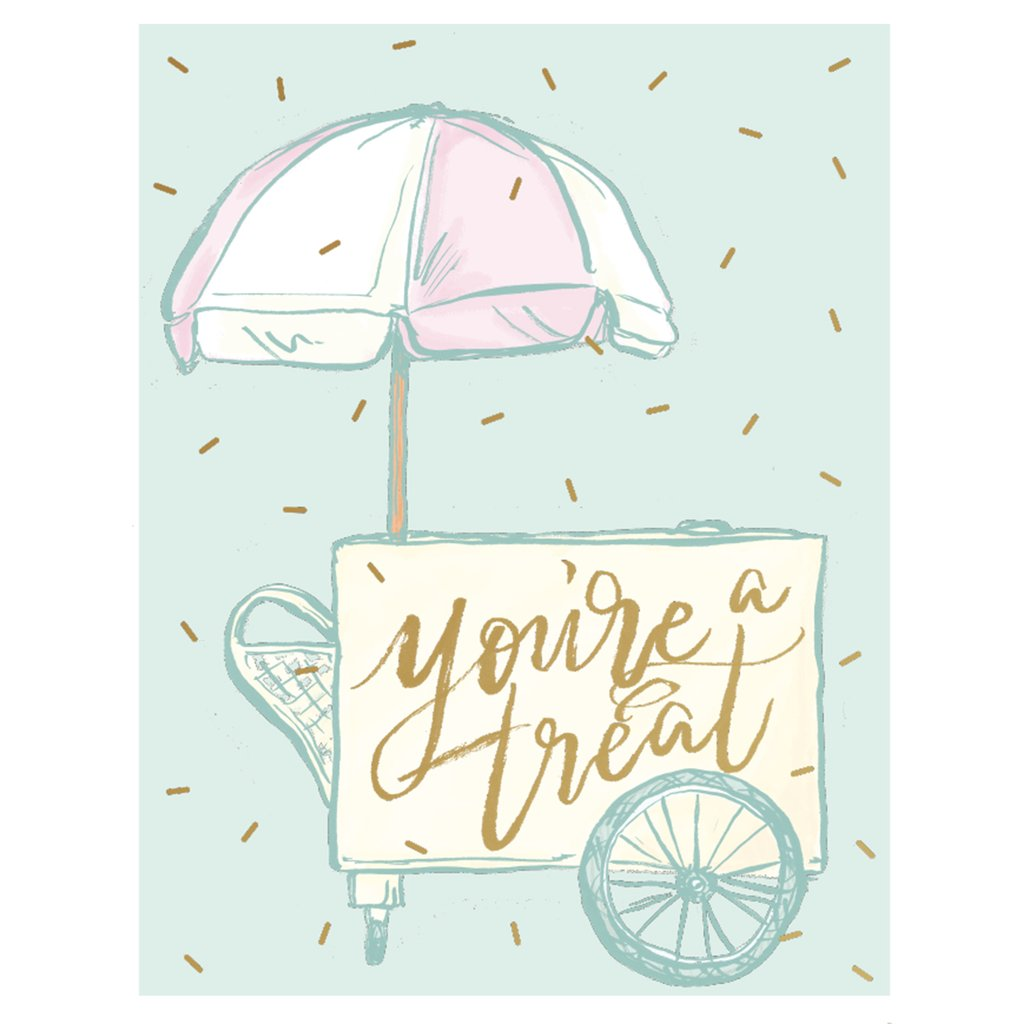 You're A Treat Card