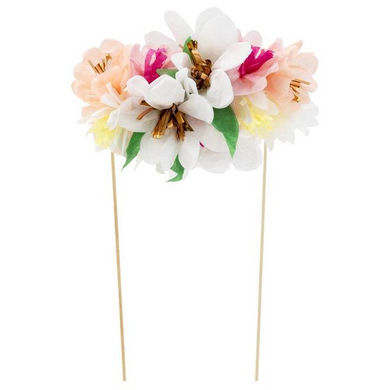 Flower Bouquet Cake Topper