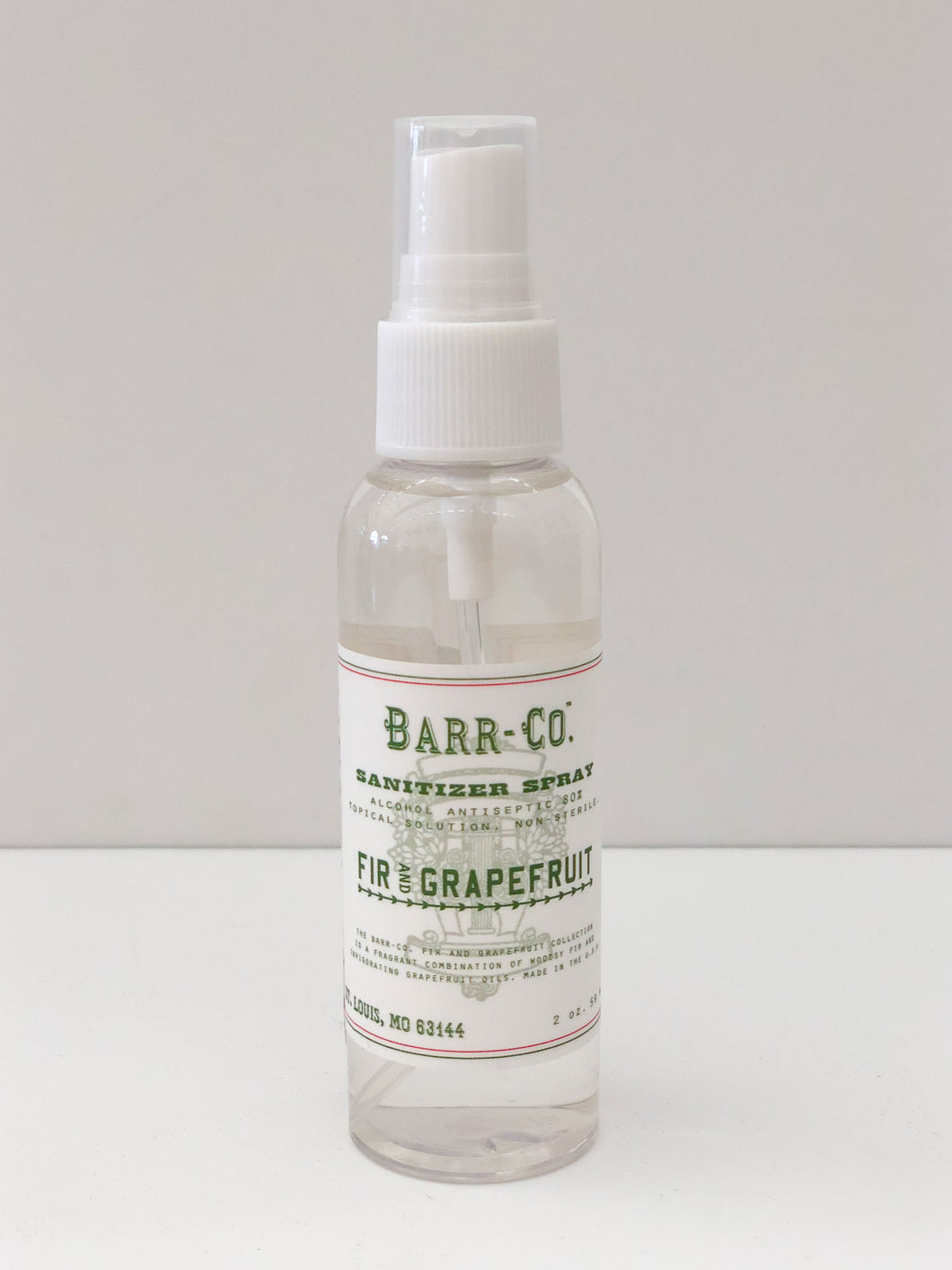 2 oz Sanitizer - Fir & Grapefruit