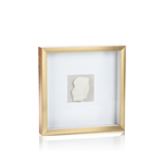Load image into Gallery viewer, Large Gold Framed Crystal