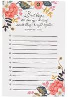 Great Things Notepad
