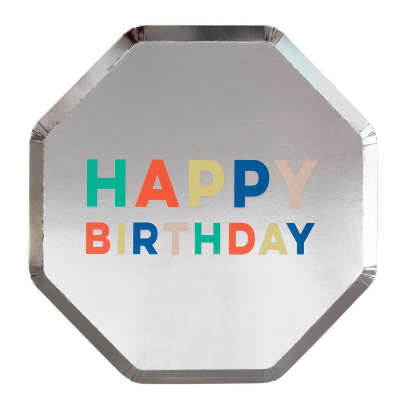 Birthday Palette Side Plates