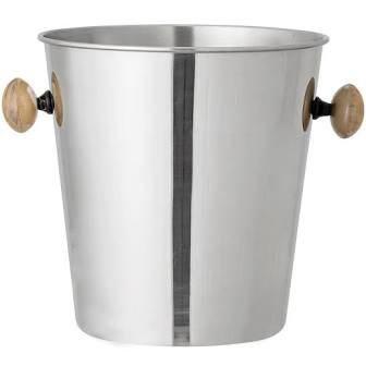 Stainless Steel Ice Bucket with Horn Handles