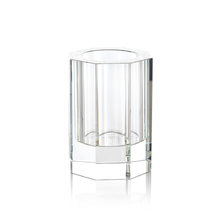 Load image into Gallery viewer, Octagonal Crystal Vase