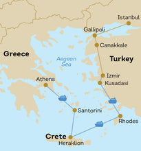 Best of Turkey and Greece (Coach Tour & Cruise)