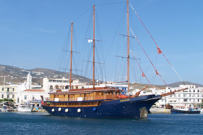 Jewels of the Cyclades Cruise M/S Galileo