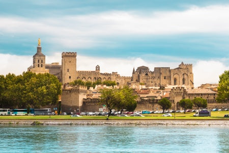 All the must-see sites on the Rhône between the Camargue and the Provence with optional dinner at Paul Bocuse's (port-to-port cruise)