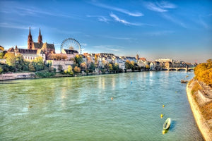 Cruise from Amsterdam to Basel (port-to-port cruise)