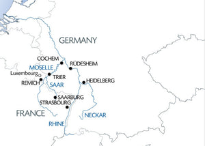 4 Rivers: The Neckar, Romantic Rhine, Moselle, and Sarre Valleys