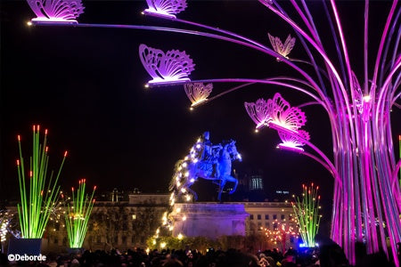 Annual Festival of Lights in Lyon (port-to-port cruise)