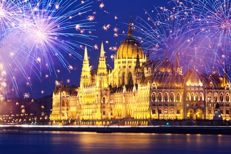 New Year on The Danube: Vienna, Budapest and Bratislava (port-to-port cruise)