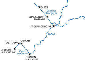 Meandering Along the Burgundy, Saône and Centre Canal
