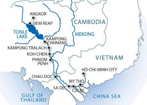 From the Temples of Angkor to the Mekong Delta (port-to-port cruise)