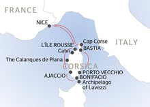 Corsican Cruise - Leaving from Nice (port-to-port package)