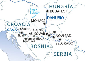 A journey between Central Europe and the Balkans (port-to-port cruise)