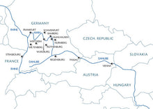 From the Rhine to the Danube & the magic of 3 rivers (port-to-port cruise)