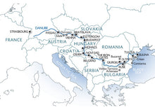 Along the Danube, the Danube delta, the Balkan peninsula and Budapest (port-to-port cruise)