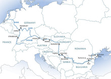 Trans-European cruise: a contrast of cultures (port-to-port cruise)