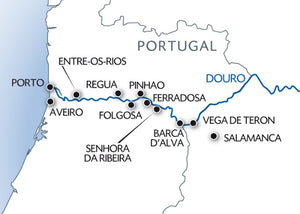 The Douro River, the spirit of Portugal (port-to-port cruise)