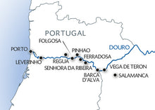 Porto, the Douro valley (Portugal) and Salamanca (Spain)  (port-to-port cruise)