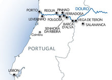 Lisbon, Porto and the Douro valley (Portugal) and Salamanca (Spain) (port-to-port cruise)