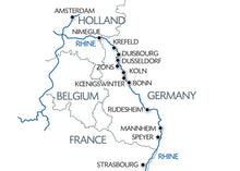 Holland and the romantic Rhine valley (port-to-port cruise)