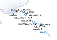 The Seine: From the Norman Coast to Paris (port-to-port cruise)